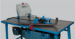 Pedrick Model DD-7 solid bar stock bending machine